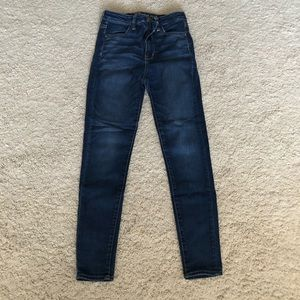 💙American Eagle super stretch jeggings